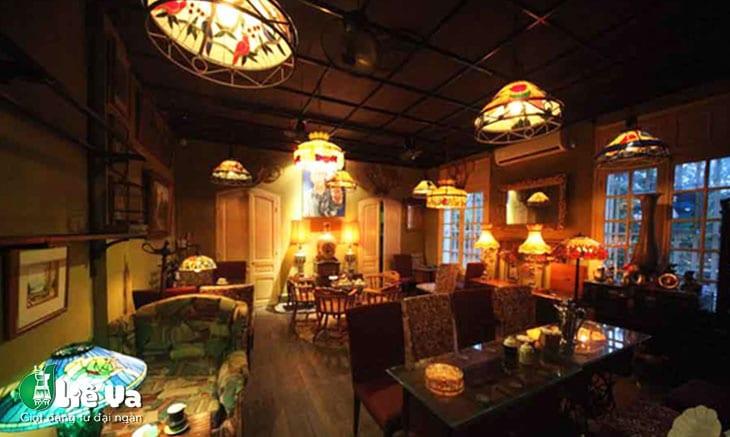 quán cafe vintage Hà Nội