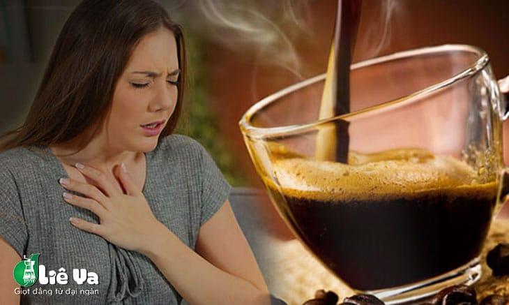 bị say cà phê