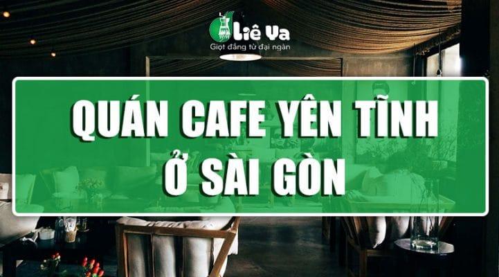 quán cafe yên tĩnh