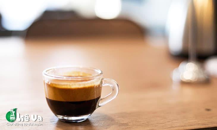 hương vị và hàm lượng caffeine của ristretto